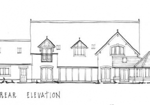 rear elevation sketch