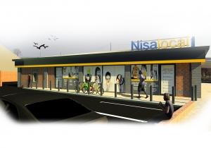 Nisa Store 3D Visual
