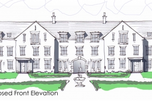 2 PJC Dacre St original elevation sketch
