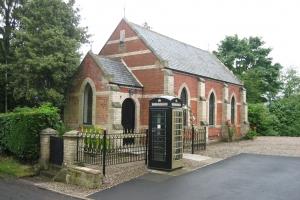 Eshott chapel & box